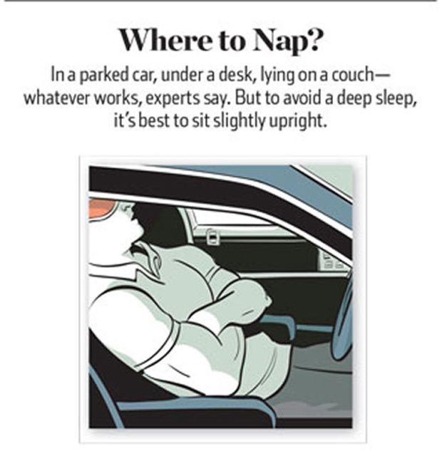 How to Take a Good Nap (7 pics)
