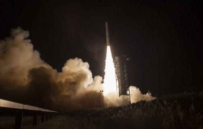 Frog Photobombs NASA Rocket Launch (4 pics)