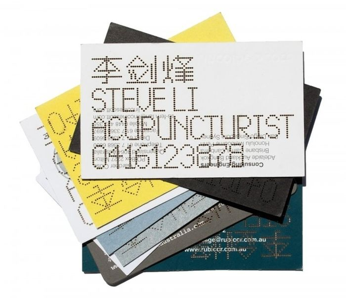 Smart Business Cards (20 pics)