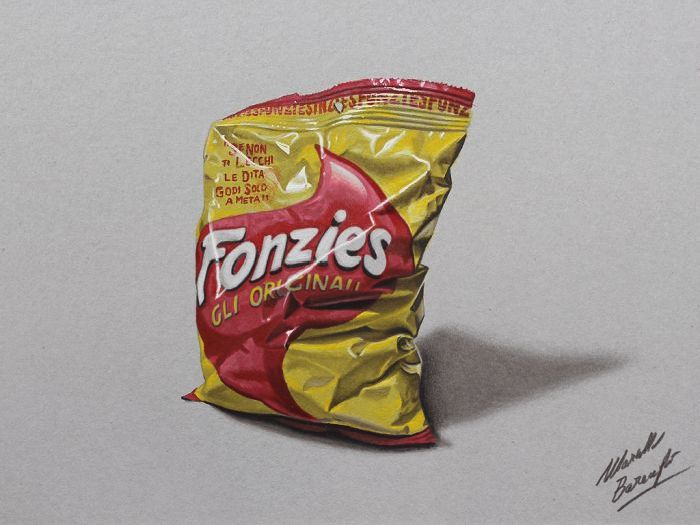 Very Realistic 3D Drawings (36 pics)