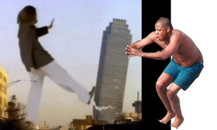 Jay Z Jumping Into a Pool Meme (17 pics)
