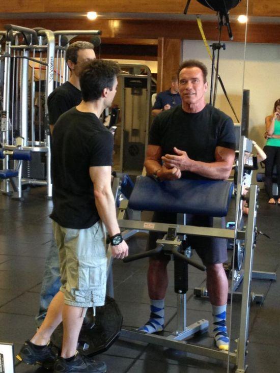 Arnold Schwarzenegger. Forever Strong (9 pics)