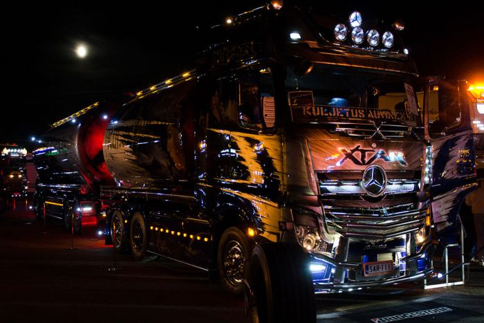 The Best Trucks of Nordic Trophy 2013 (40 pics)