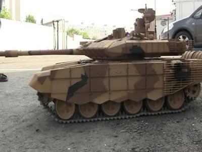 Handmade T90 Tank Model