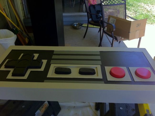 NES Controller Coffee Table (54 pics)