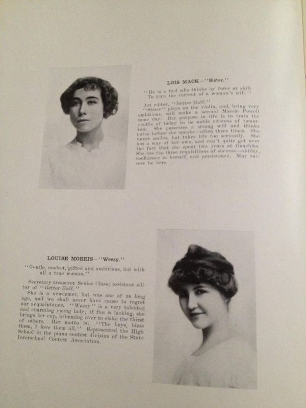 Yearbook from 1913 (38 pics)