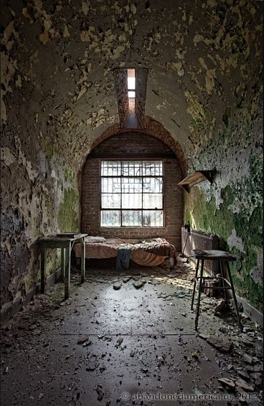 Two Abandoned Prisons (33 pics)