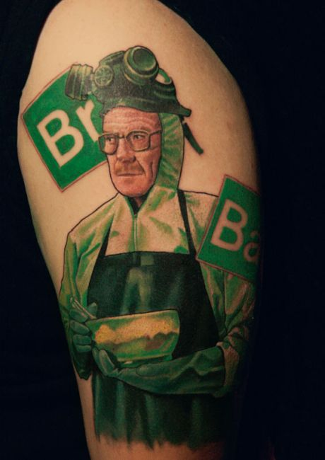Awesome Walter White Tattoos (20 pics)