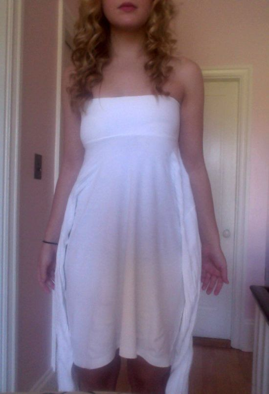 Turtleneck Dress (10 pics)