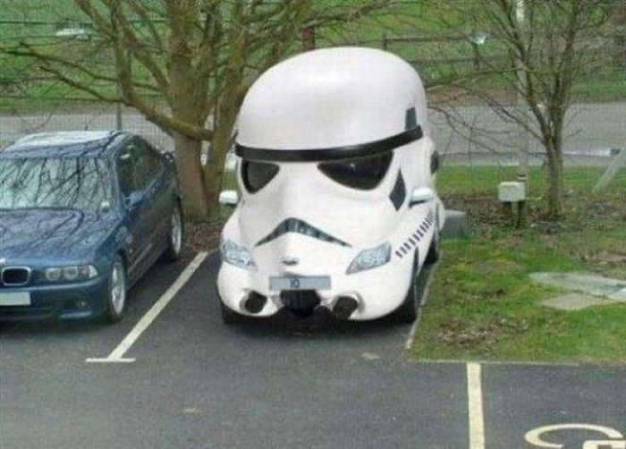 Funny Car Themed Photos Part Pics