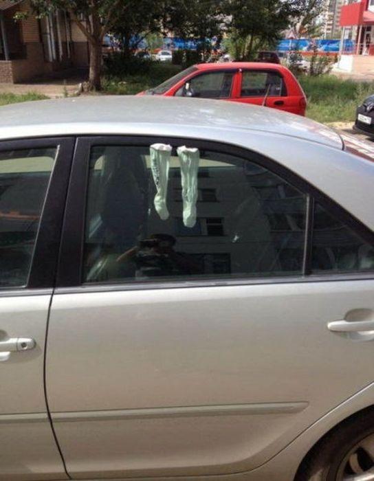 Funny Car-Themed Photos. Part 6 (40 pics)