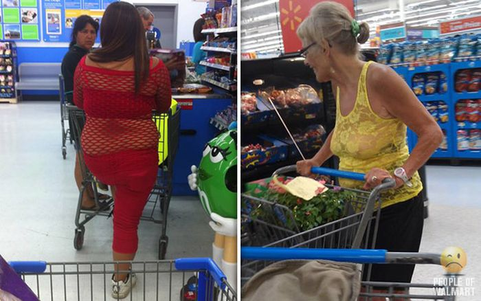 People of WalMart. Part 23 (45 pics)