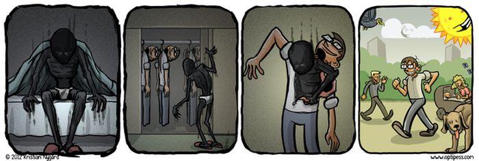 Comics About Depression (21 pics)