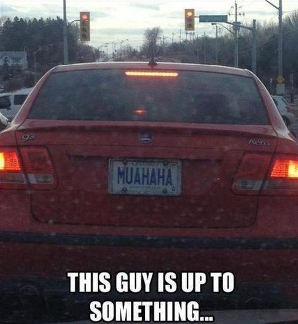 Funny License Plates (25 pics)