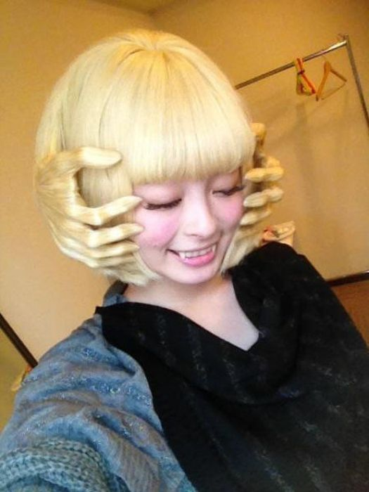 Unusual Hairstyles (35 pics)
