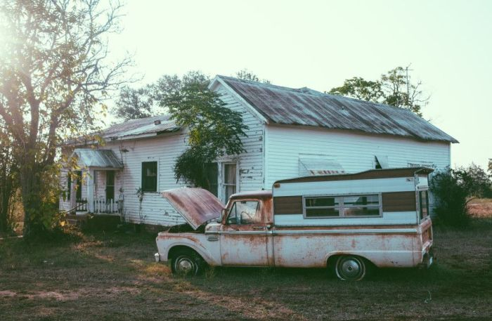 Abandoned House in Texas (20 pics)