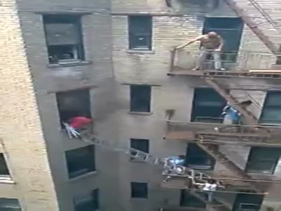 Rescuing a Man From Fire