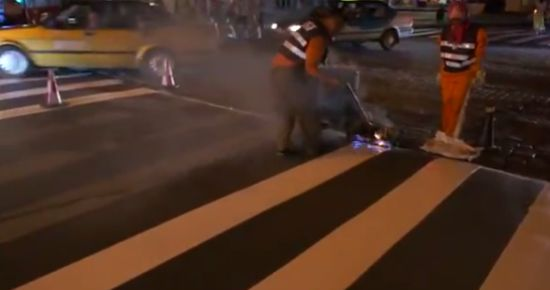 How Road Marking is Made in China
