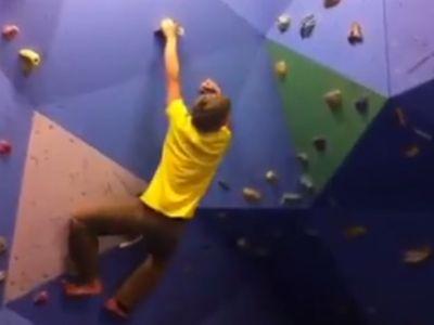 Climbing the Wall Like a Boss