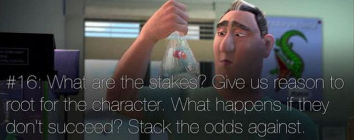 Pixar's Rules of Storytelling (23 pics)