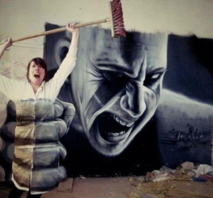 Beautiful and Smart Graffities (40 pics)