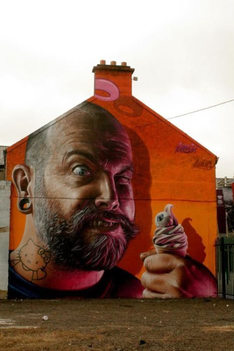 Beautiful and Smart Graffities (40 pics)
