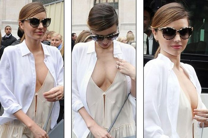 Miranda Kerr Has the Sexiest Dress Ever (6 pics)