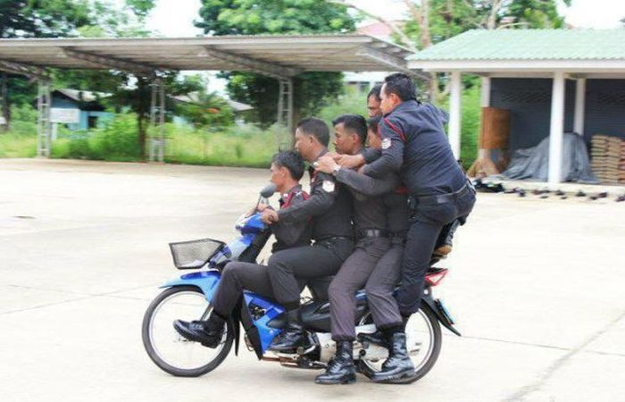 Police Officers at Work (56 pics)