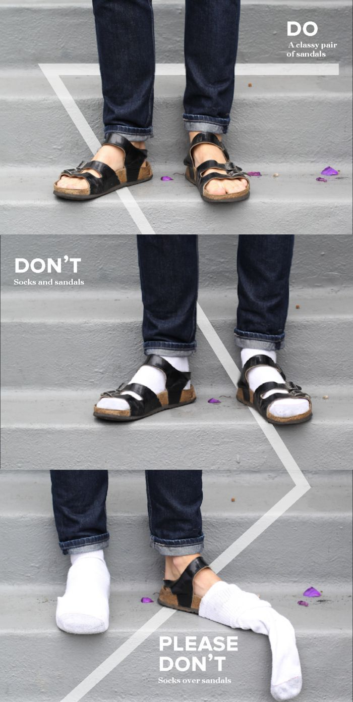 Fashion Advices for Men (5 pics)
