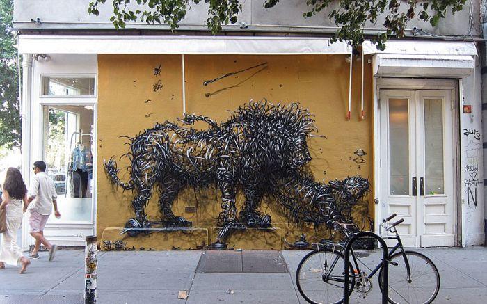 Street Art by DALeast (17 pics)