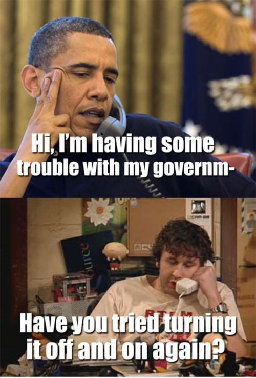 Funny Pictures about the Government Shutdown (32 pics)