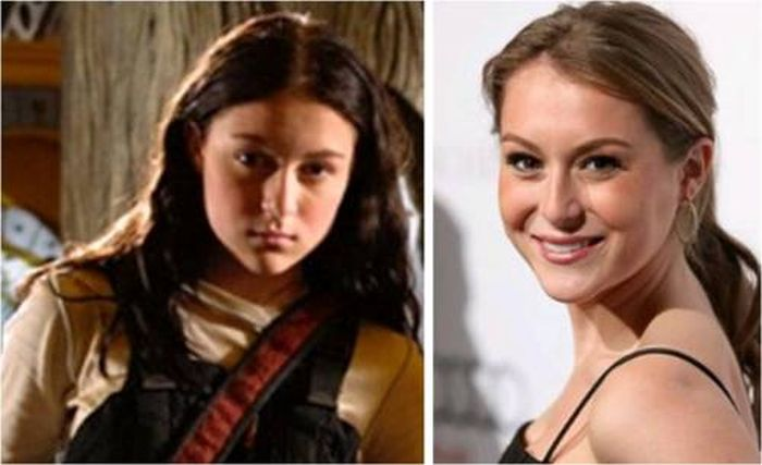 Celebrities Then and Now (27 pics)