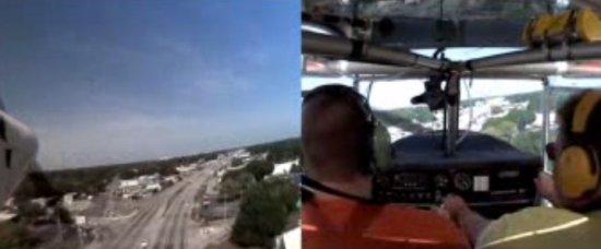 Emergency Plane Landing on the Road