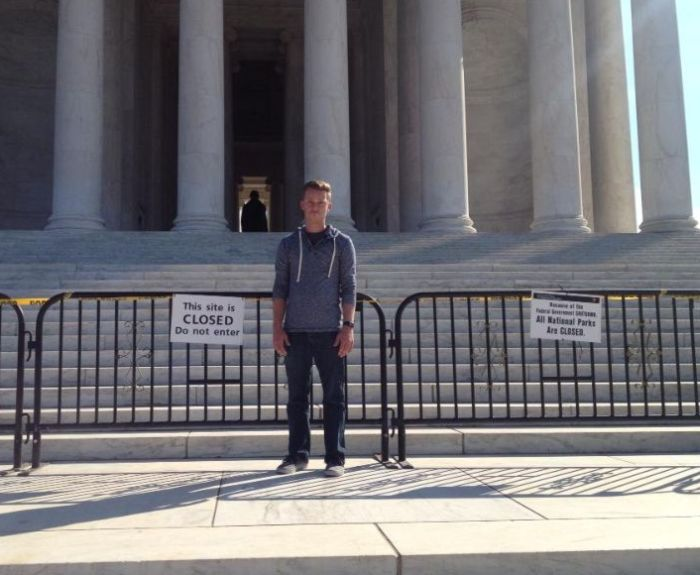 What the Government Shutdown Means for a Tourist (7 pics)