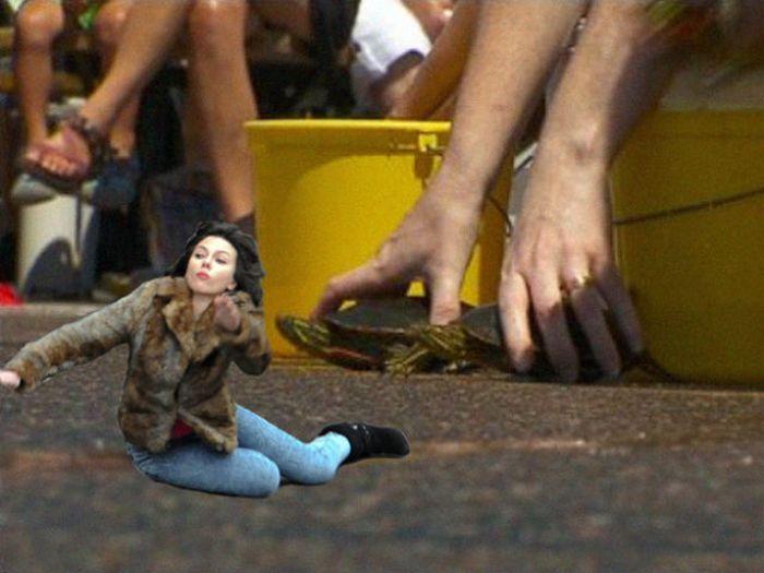 Scarlett Johansson Falling Down Meme (45 pics)