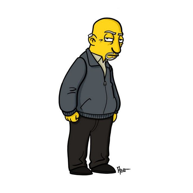 Breaking Bad Characters Get Simpsonized (13 pics)