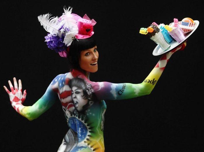 World Body Painting Festival in Austria (32 pics)