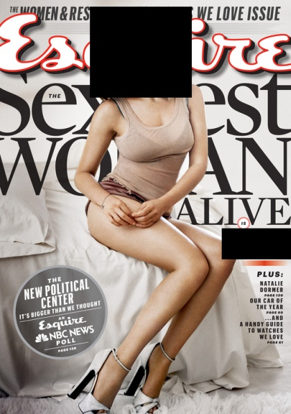 "Esquire's ""Sexiest Woman Alive"" (2 pics)"
