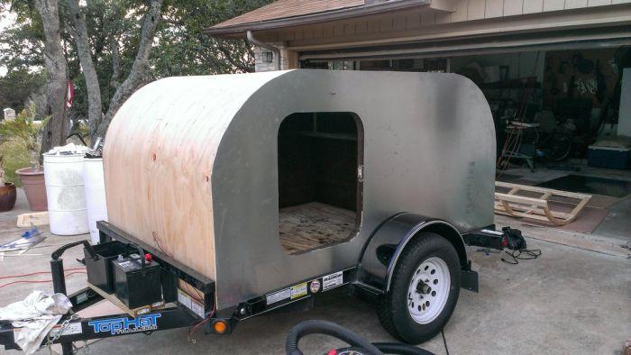 DIY Camping Trailer (38 pics)