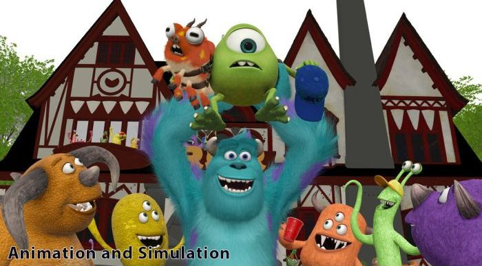 """Monsters University"" Development Process (6 pics)"