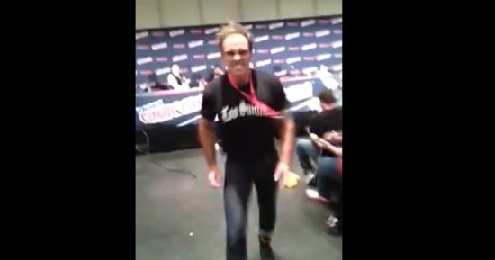 Trevor from GTA V Showing Skills