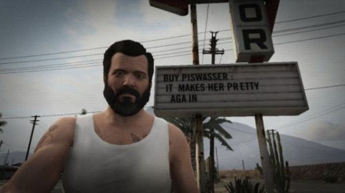 The Best Selfies from GTA V (31 pics)