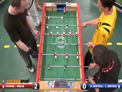 Playing Table Football Like a Boss