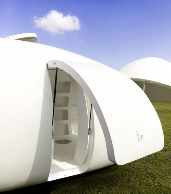 Spherical Mobile Home (6 pics)