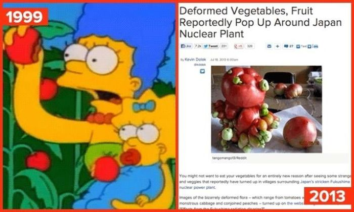 """Future Predictions That """"The Simpsons"""" Got Right (21 gifs)"""