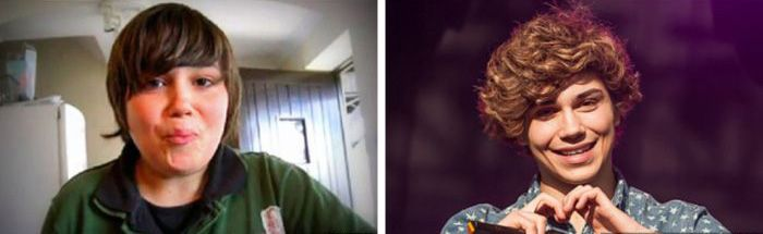 Music Stars Then and Now (27 pics)