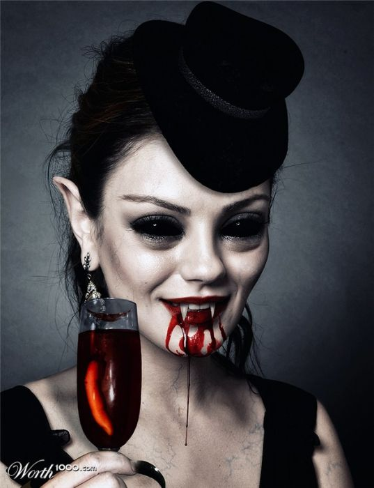 If Celebrities Were Vampires (44 pics)