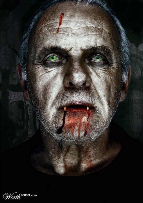 If Celebrities Were Vampires (44 pics)