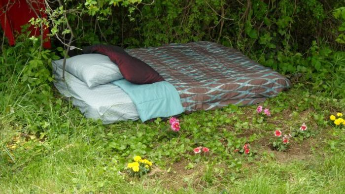 Sex Mattress In The Middle Of The Woods (21 pics)