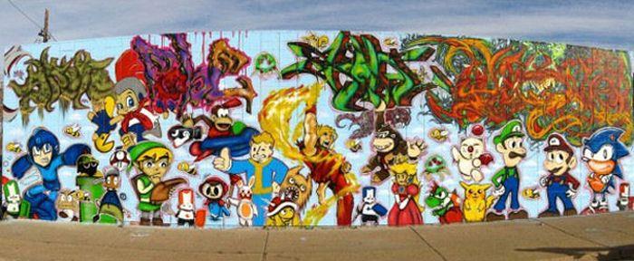 Video Game Grafitti (24 pics)